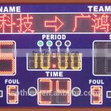 Hot sell customer design portable basketball rental LED scoreboard