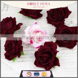 Cheap price wholesale artificial rose flower head for wedding home decoration                                                                         Quality Choice