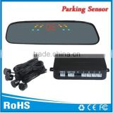 Universal for all cars Reversing assistant parking sensor radar with 3 color digital Led and Buzzer alarm