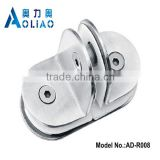 Stainless steel clip on reading glasses and SS handrail clamps and handrail glass fixing