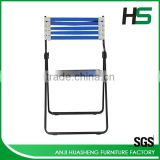 High quality blue elastic bungee rope folding chair