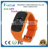 Portable small Children/ wrist watch gps tracking device for kids-caref watch