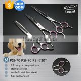 ICOOL PSI-70(70,730T)high quality 440c pet grooming scissor set