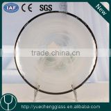 round soda lime catering white charger plate for decoration wholesale                                                                                                         Supplier's Choice