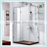 3 sided Rectangular free standing shower enclosure