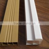 Decorative PVC Profile Jointer, waterproof pvc extrusion profile for bathroom door frame PJA217