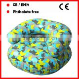 camouflage color inflatable chairs for kids custom inflatable sofa