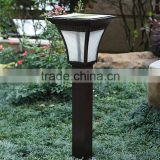 Wholesale solar garden light pole light 20W & 30W decor solar led garden light for fence post
