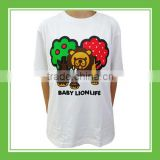 Special Products Bros Baby Lion Forest Donuts Unisex Cotton Printed White Summer Tee Comfortable Short Sleeve New Design