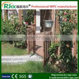 Decorative WPC outdoor handrail and fence/decorative garden fence made of wood palstic composiite decking