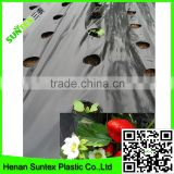 PE Plastic Black-Silver plastic Mulch Film Punch Hole /agricultural mulch film/biodegradable mulch film