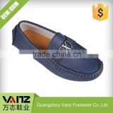 OEM ODM Production Grinding-free PU Leather Mens Slipper Shoes Loafer Casual Shoes