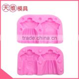 Boy girl couple loaded with silicone mould wedding cake wedding cake decorations creative personality fashion
