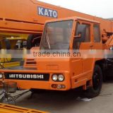 used kato 25t 50t hydraulic mobile crane, quality tested diesel cranes provided in China