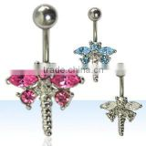 Belly ring, body piercing jewellery, belly button ring, dangling body jewellery, navel ring, body piercing, navel jewelry