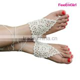 Fast Delivery Free Shipping Barefoot Beach Walk Nude Sandals                                                                         Quality Choice