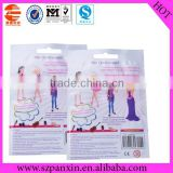 colorful plastic toy packaging bag used barbie doll