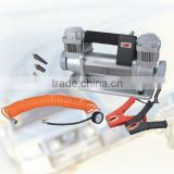 12V/150PSI Special Design for Tyre Inflating, Heavy Duty Inflation Pump, Professional Mini Air Compressor with Emergency Kit