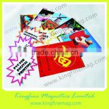 large size poster printing,magnetic rolls for digital print,solvent base printable magnet,magnetic sheets for printing,printable