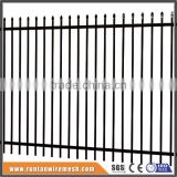 Hot dipped galvanized or powder coated prefabricated steel fence                                                                         Quality Choice