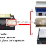 Upgraded 3 in 1 Mobile LCD Repair Machine LCD Preheater + Vacuum LCD Glass Separator + Vacuum A Frame Remover