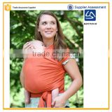 Sannovo women orange cotton baby wrap carrier,baby carrier wrap made in china                                                                         Quality Choice
