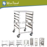 Bakery Tray Stainless Steel Baking Rack Trolley