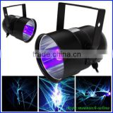 factory wholesale mini portable par38 light disco/ bar/ dj used small uv light with E27 bulb