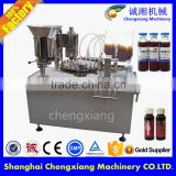 Trade assurance auto oral liquid filling machine,glass bottle filling machine