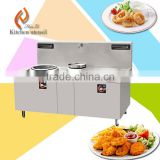 8000+12000+15000W Triple woks hotel restaurant kitchen aplliance commercial electric stainless steel induction wok stove