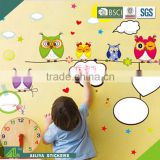 Factory direct custom best decorative waterproof self adhesive baby room removable whiteboard film