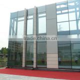 foshan wanjia factory aluminum glass curtain wall design
