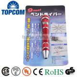 9 Head screwdriver set pen shape tools