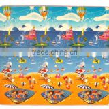 Foamed plastic beach mat recyclable non-slip large plastic floor mat outdoor