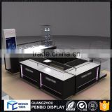 Adequate quality wooden iron glass display cabinet and showcase for jewelry shop                                                                         Quality Choice
