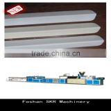 SKR machinery PVC production line plastic profile extrusion for internal/external corner