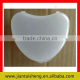 Hot selling free sample heart shape denture dental retainers case                                                                         Quality Choice