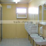 20ft prefab container mobile toilet ,shower room