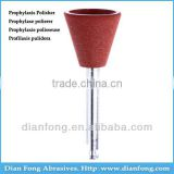 Ar108M Brown RA Shank Low Speed Cup Silicone Rubber Prophylaxis Polisher For Polishing Ceramic Dental Hygiene In Texas