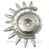 CJ3025 metal snap pendant, zinc alloy nickel free pendant for necklace