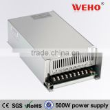 Electronic component constant current 500w Single output power supply 36v 14amp ac dc smps
