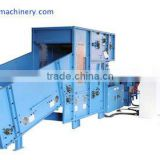 Polyester fiber carding and blowing machine