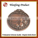 Promotional Souvenir High Quanlity 2015 NEWEST Design Customized Have Ribbon Metal Medal