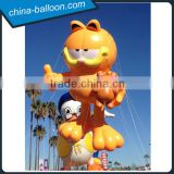 popular Hollywood cartoon,cute inflatable mascot cat,giant animal cat cartoon for parade