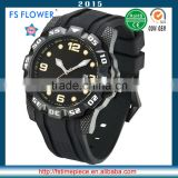 FS FLOWER - Western Europe Markets High-Quality Quartz Watch Silicone Strap Hot Selling Products