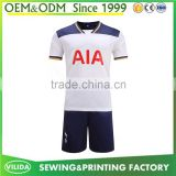 Wholesale sublimation printing football jersey fabric grade original quality soccer training uniform