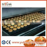 tunnel oven machinery for food processing 2014 hot sale electrical bakery equipment prices