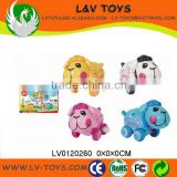 Plastic happy dog toys for child