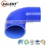 22mm high temperature reinforced automotive Blue elbow 90 degree silicone intercooler hose