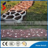 2016 China DIY Concrete Stone mold Plastic Path Maker Mold Manually Pavement Cement Brick Stone Road Auxiliary Tools